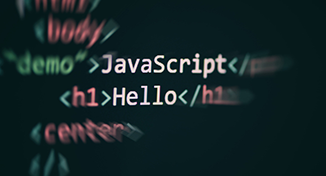 Image of hybrid of javascript code and python code